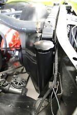 "Aluminum Radiator Overflow Tank Black 2"" x 13"""