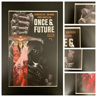 Once and Future #1 8th Printing, BOOM Studios, NM, Unread Issue, VERY LOW PRINT