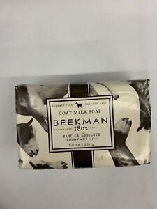9oz! Vanilla Absolute Beekman 1802 Goat Milk Soap 1 Bar