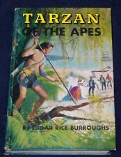 TARZAN OF THE APES Edgar Rice Burroughs BOYS EDITION Grosset & Dunlap 1967