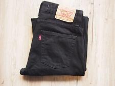 LEVIS 512. 0360 (3501) Bootcut Jeans w31 l34 BLACK/NERO OTTIME CONDIZIONI