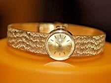 LQQK Longines SOLID 18K Gold Ladies WATCH vintage antique estate France