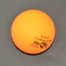 100Pcs DOUBLE FISH 3-Stars 40mm Olympic Table Tennis Orange Ping Pong Balls