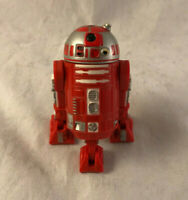 Vintage Star Wars R2-R9 Red Astromech Naboo Droid Action Figure - Hasbro 1999