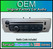 Renault Scenic CD player radio stereo Bluetooth Handsfree USB AUX 281158023R