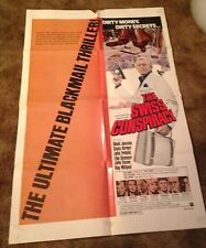 THE SWISS CONSPIRACY David Janssen ORIGINAL 1976 ONE SHEET MOVIE POSTER
