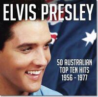 ELVIS PRESLEY 50 Australian Top Ten Hits 1956-1977 2CD BRAND NEW