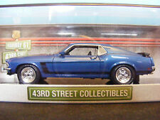 Ford Mustang Boss 302  Met Blue 43rd. Street Collection Made for USA 1:43 New