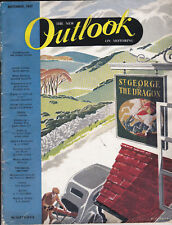 The New OUTLOOK on MOTORING 1947 Nuffield Magazine MORRIS, MG, RILEY & WOLSELEY