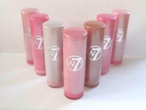 W7 Perfect Fashion Moisturising Lip Colour Pinks Lipstick - Various Pink Shades