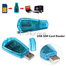 USB Cellphone Standard SIM Card Reader Copy Cloner Writer SMS Backup GSM/CDMA