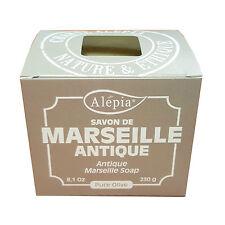 Lot de 4: Savon de Marseille artisanal pure olive