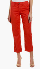 Joe's Jeans Jane High-Rise Straight Crop Nantucket Red NWT $188
