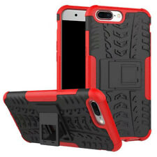 New Hybrid Case 2 Pieces Outdoor Red for one plus 5 Case Cover Protection New