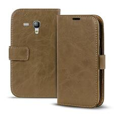 Schutzhülle Book Case Für Samsung Galaxy S3 Mini Handy Hülle Schutz Klapp Tasche