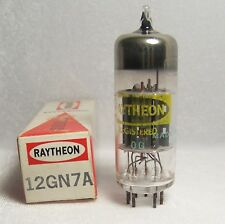Raytheon 12GN7A Electron Tube Vacuum Radio Video Amplifier Vtg OS Untested