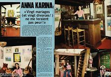 Coupure de Presse Clipping 1976 (6 pages) Anna Karina