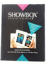 "SHOWBOX Photo Viewer For 3 1/2"" x 5"" PHOTOS-Charcoal-Holds 40 Prints"