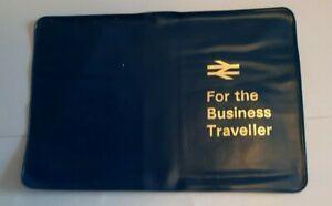 Vintage British Rail Ticket Wallet