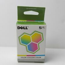 Dell 5XL Color Ink Cartridge M4646 New Factory Sealed Box