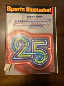 Sports Illustrated - Silver Anniversary Issue 25 - August 13, 1979 -(M13A)