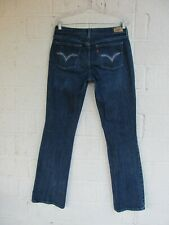WOMEN'S LEVIS JEANS SIZE 8 L 515 BOOT CUT STRETCH PRE OWNED