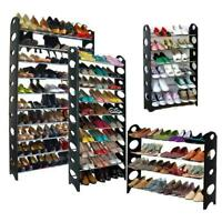 Shoe Rack 6/10 Tier Storage Organizing Home Organizer Holder Tower Portable USA