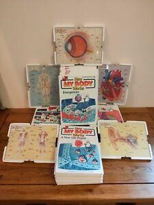 How My Body Works - Complete Set 1-50 - Hardback Books - & 5 Jigsaws