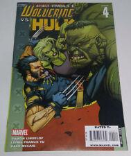 Ultimate Wolverine vs Hulk #4 2009 Marvel Comic Damon Lindelof Leinil Francis Yu