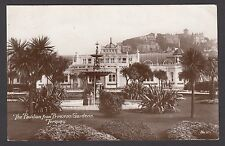 Postcard Torquay Devon the Pavilion from Princess Gardens posted 1913 RP