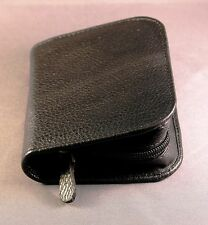 Diabetic Glucometer / Glucose meter - Top Grain leather case - Black