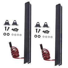 2pcs Bright LED Light Bar Roof Lamp for SCX10 D90 Traxxas Trx-4 1/10 RC