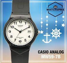Casio Para Mujer clásico analógico reloj mw59-7b