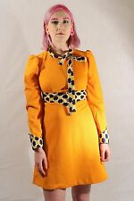 GENUINE VINTAGE 60'S CUTE MOD DRESS SIZE 8 TO 10 MOD SCOOTER NORTHERN SOUL