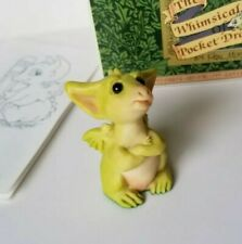"""""""You Can't Make Me"""" Whimsical World of Pocket Dragons by Real Musgrave with Box"""