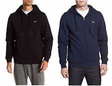 Lacoste Men Fashion Sport Tennis Fleece Hooded Hoodie Sweatshirt Black, Blue