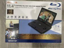 Sylvania Portable Blu-Ray Disc/Dvd Media player 11.4� Display