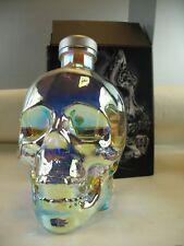 Crystal Head Vodka Aurora Bottle 750ml in box empty