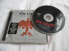 THE CROW SALVATION OST CD ALBUM HOLE KID ROCK ROB ZOMBIE TRICKY MONSTER MAGNET