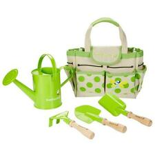 NEW EverEarth Children's Gardening Set with Watering Can, Spade, Shovel & Rake