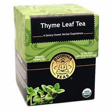 Thyme Leaf Tea Buddha Teas - 18 Tea Bags
