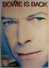 David Bowie Black Tie White Noise German Poster 1993 Ziggy Stardust