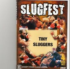 SLUGFEST SERIES VOL.3 TINY SLUGGERS - 4 DISC SET BOXING DVD -COLLECTORS EDITION