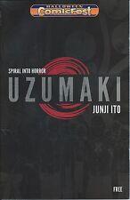 UZUMAKI 1 RARE NM VIZ HALLOWEEN COMICFEST HCF 2013 PROMO GIVEAWAY PROMOTIONAL