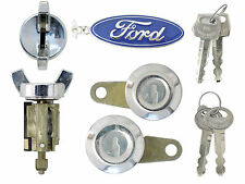 Ford 1981-91 - F150, F250  P/U - Ignition & Door Lock Cylinders with Keys - NEW