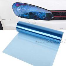 "12"" x 60"" Light Blue Tint Car Headlight Protector Film Vinyl Glossy 1ft x 5ft"