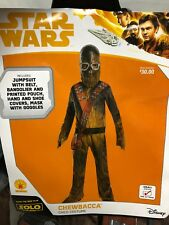 Star Wars Chewbacca Halloween Costume Size Youth Small 4-6 Ys Rubies Nip