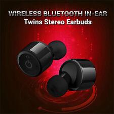 Mini True Wireless Bluetooth Twins Stereo In-Ear Earbuds Headset Earphone!