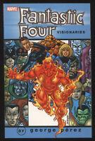 Fantasic Four Visionaries George Perez Volume 2 SC TPB Sinnott
