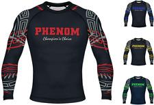 Phenom Rash Guard Compression Top Bjj Grappling Gym Mma Jiu Jitsu Long Sleeve Lf